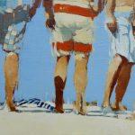 Boardshorts /huiles sur toile 60x92cm