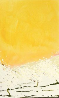 Bloom XXI /acrylique et crayon sur toile 130x81cm