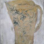 Pot 2 /tech mixte marouflée 29x21cm