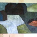 70x100cm/ acrylique sur toile