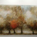 Arbres, huile sur toile 81x116cm