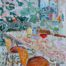 At the table /huile sur toile 92x73cm