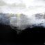 Aux Portes des Montagnes /acrylique sur bois 65x63,5cmm