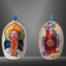 Balise CAPOTO JARINA - BRESIL /peinte à la main, pièce unique
