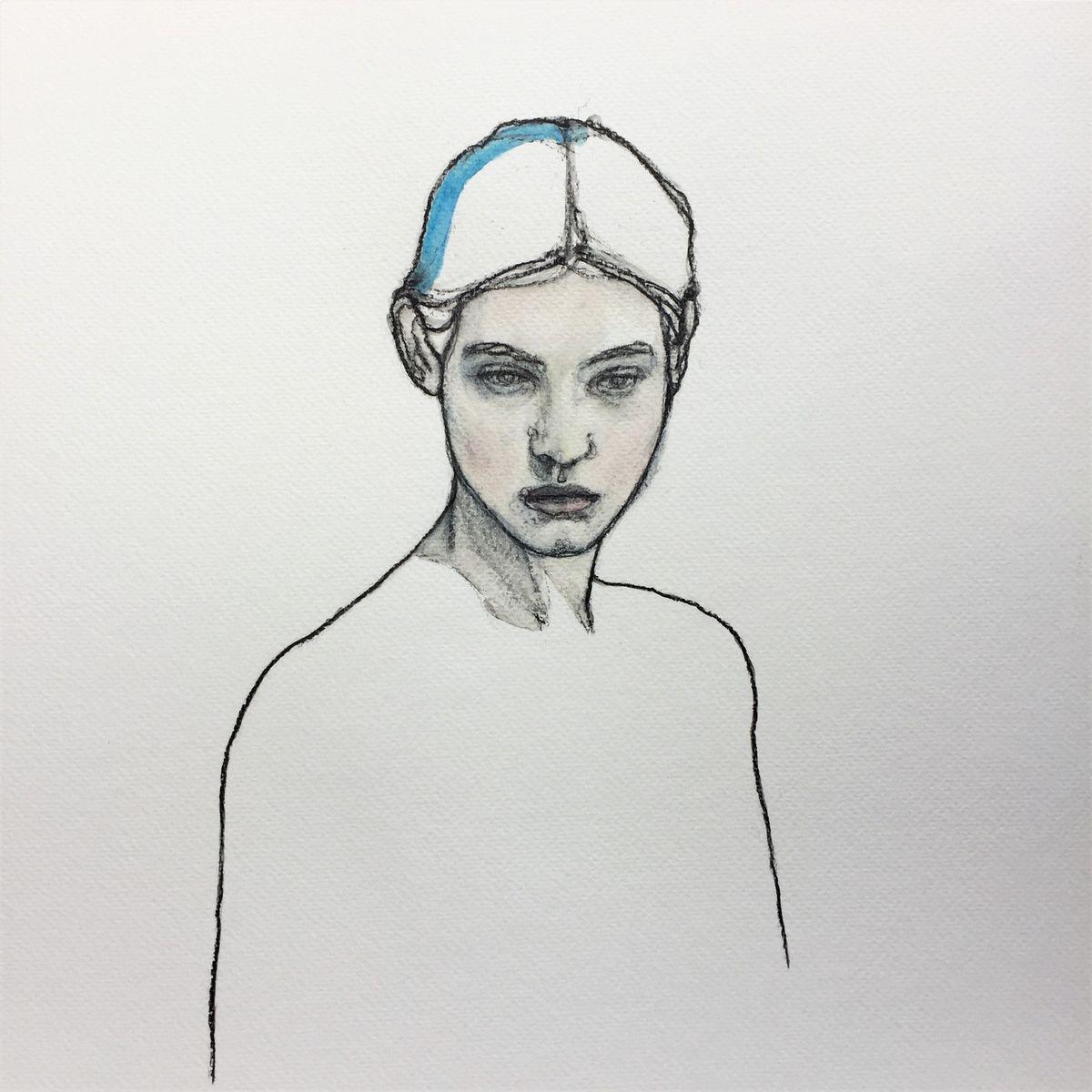 Bleue - 33x33 - 2021