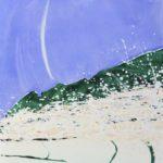 Bloom XVIII /acrylique et crayon sur toile 130x81cm