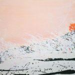 Bloom XXV /acrylique sur toile 100x100cm