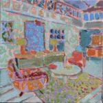 Living room /HST 25x25cm