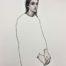 Dolores /acryl et pastel sec41x41cm