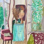 Chez Aude Jolijour /feutre sur papier aquarelle 27x17cm