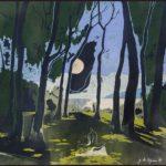Clairière zen /acrylique sur toile 50x50cm