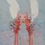 Crusoé /tech mixte marouflée sur bois 114x81cm