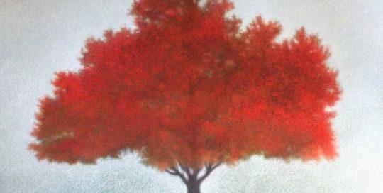 Equinoxe /acryl et pastel sec/papier 100x80cm hors cadre