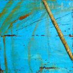 Cap au nord /acrylique sur toile 40x40cm
