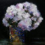 Flowers /acryl sur bois 36,5x55cm VENDU