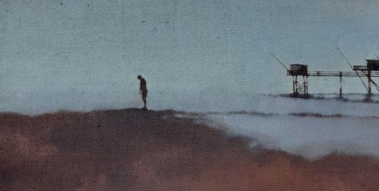 Hervé /huile sur toile 92x73cm