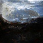 Himalaya mon Amour /acryl sur bois 60x60cm