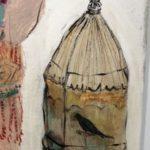 détail Figure à l'oiseau