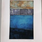 Baie de Morlaix 7 /gravure aquatinte 70x50cm