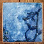 """""""Inspiration Matisse"""" 25x25cm(encadré)"""