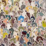 J+homme à la poche /acrylique su toile 81x100cm