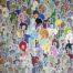 J+la dame noire.../acrylique sur toile 146x114cm