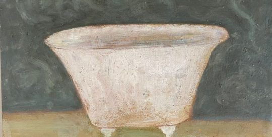 La baignoire - 43x53cm