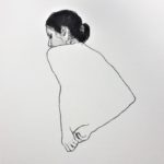 La robe - 40x40 - 2020
