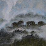Landscape V /acryl sur bois 30x30cm/acrylique sur bois 30x30cm