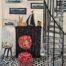 Le Fauteuil des deux Clotildes /feutre sur papier aquarellé 42x29cm