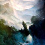 Le grand oeuvre /acrylique sur toile 150x150cm