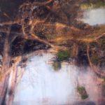 Le bruit du vent /photographie et pigments, encre 80x130cm VENDU