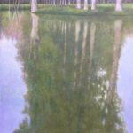 Marais poitevin /pastel et acrylique sur toile 100x100cm