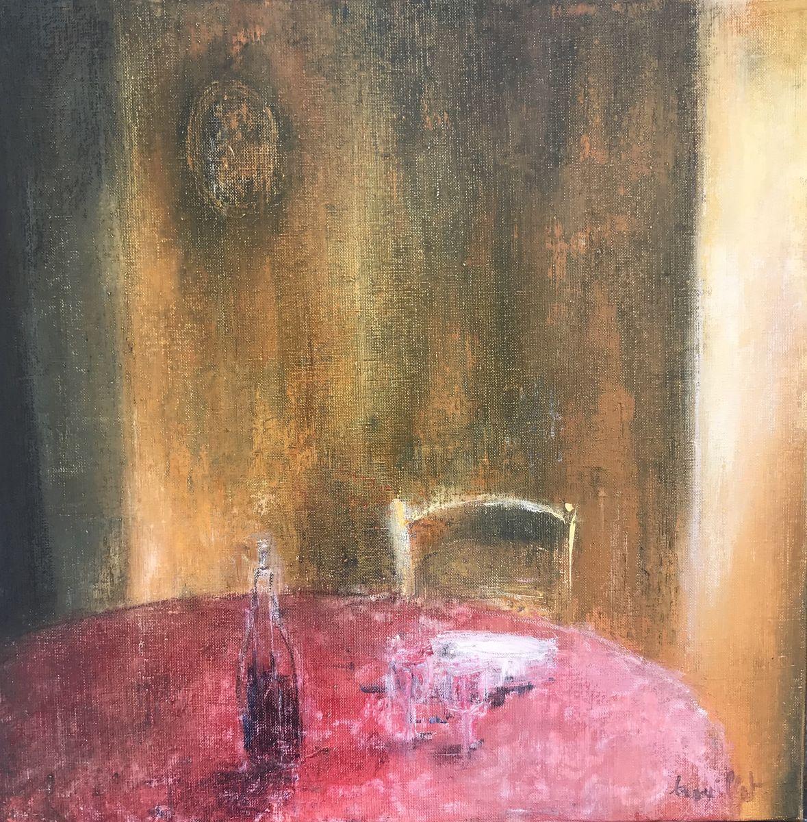 Histoires peu ordinaires /huile sur toile 50x50