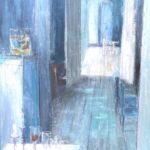 Etape par étape /huile sur toile 116x89 cm