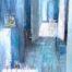 Etape par étape /huile sur toile 116x89cm