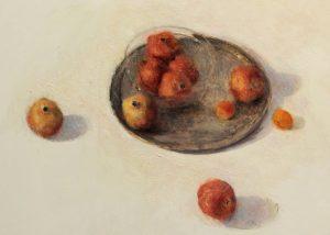 Grenades/huile sur toile 72x93 cm