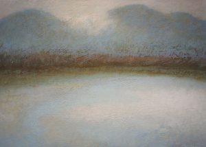 Paysage 3/acrylique sur toile 100x100 cm