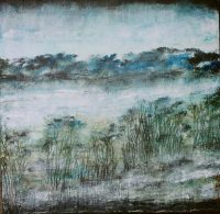 Paysages de la mémoire 1 /huile sur toile 80x80cm