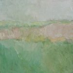 Prairie /huile sur toile 50x50cm