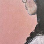Printemps /acryl et pastel gras sur bois 34x23cm