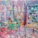 Ready in the dining room /HST 60x70cm
