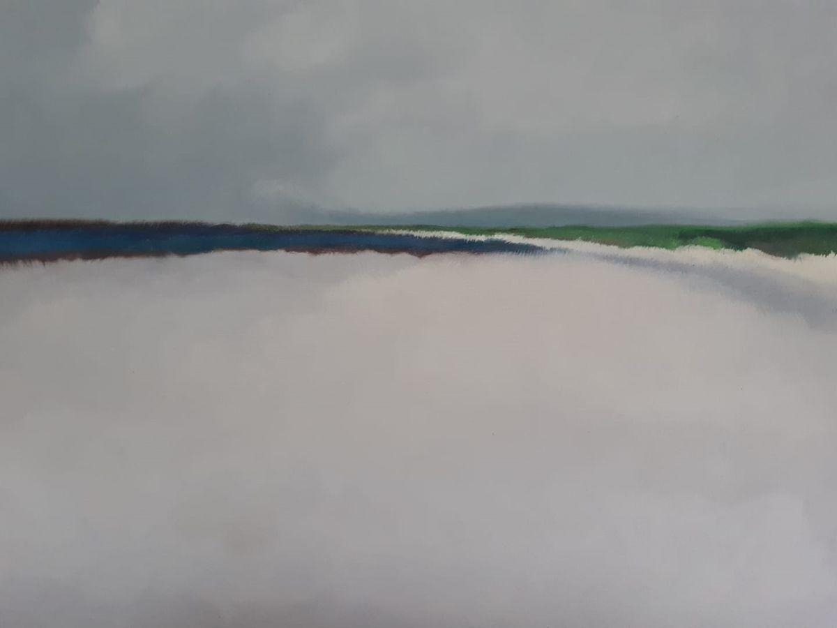 Sables /huile sur toile 61x50cm