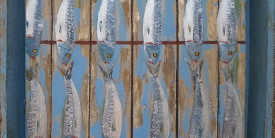 Sardines en caisse
