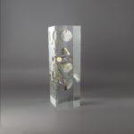O'clock MG18 /inclusion cristal de synthèse 30x9x9cm