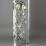 O'clock DMG /inclusion cristal de synthèse 40x10x10cm