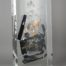 Cliché Olympus /cristal de synthèse 40x18x10cm