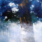 Tree /acrylique sur bois 53x50cm