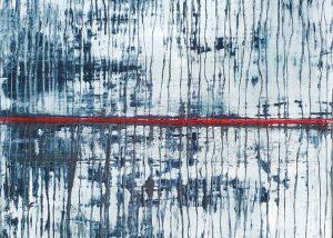 Reflet de l'inconscient /huile sur toile 70x70cm collection privée