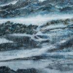 La montagne de l'âme /huile sur toile 165x115cm collection privée